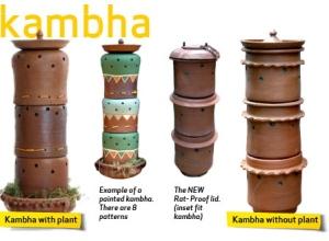 potter composter design, Daily Dump