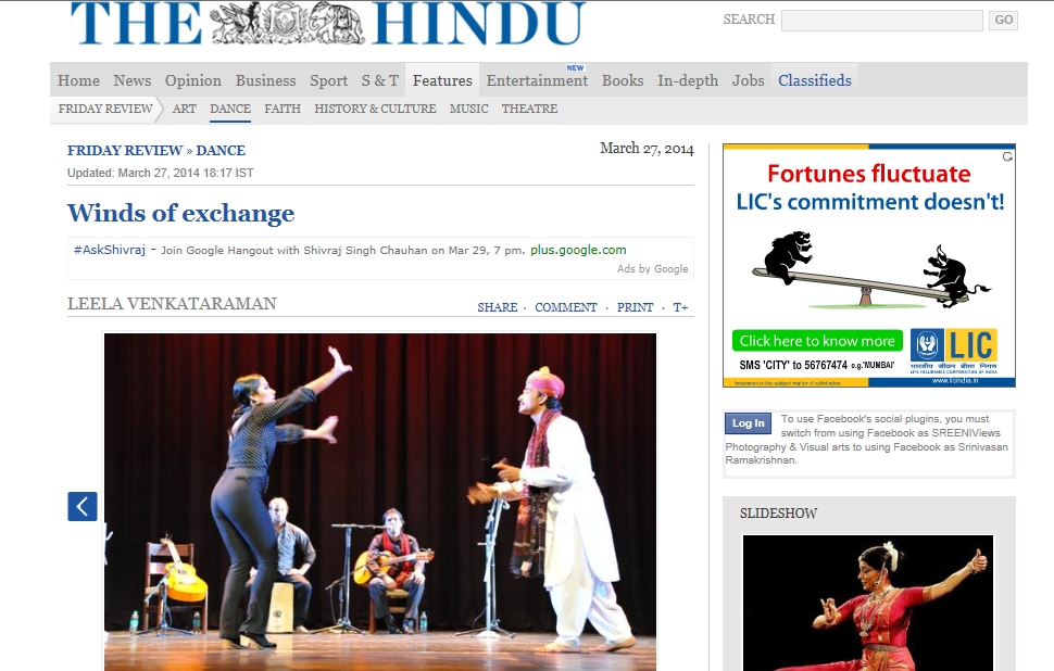 The HIndu Friday Review March 28, 2014 2
